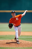 James McCracken (21) of Middle Tennessee Christian School in Murfreesboro, TN during the Perfect Game National Showcase at Hoover Metropolitan Stadium on June 20, 2020 in Hoover, Alabama. (Mike Janes/Four Seam Images)