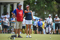 Gerina Piller (USA) looks over her tee shot on 1 during round 4 of the 2019 US Women's Open, Charleston Country Club, Charleston, South Carolina,  USA. 6/2/2019.<br /> Picture: Golffile | Ken Murray<br /> <br /> All photo usage must carry mandatory copyright credit (© Golffile | Ken Murray)