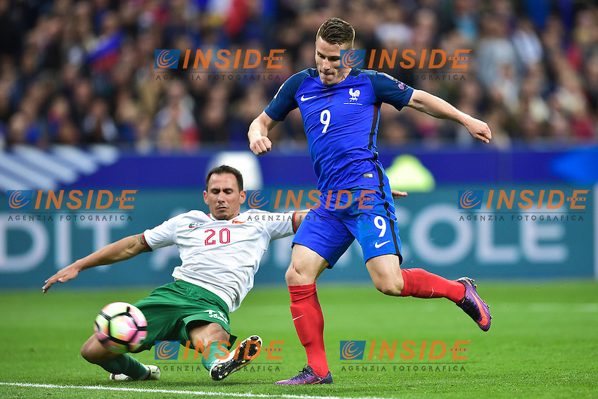 But de Kevin Gameiro (France) <br /> Parigi 07-10-2016 Calcio Qualificazioni mondiali <br /> Francia Bulgaria<br /> Foto Panoramic/Insidefoto <br /> ITALY ONLY