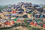 A section of the Jamtoli Refugee Camp near Cox's Bazar, Bangladesh. More than 600,000 Rohingya have fled government-sanctioned violence in Myanmar for safety in Bangladesh.