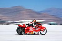 Speed Week 2007 Bonneville Salt Flats Wendover UT. # 930B 1998 Winks Custom Motorcycle 1650cc