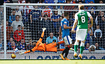 Vykintas Slivka scores goal no 3 past Wes Foderingham