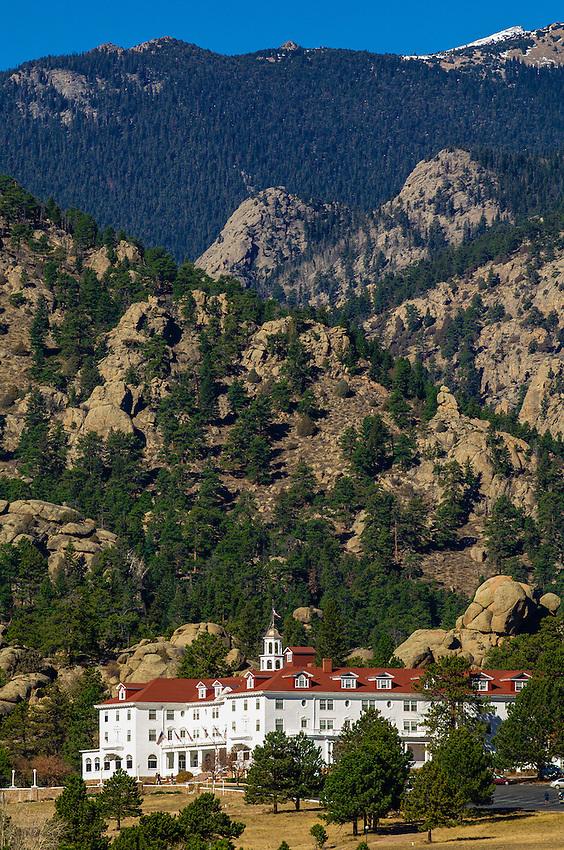 Stanley Hotel, Estes Park (in the Rocky Mountains), Colorado USA