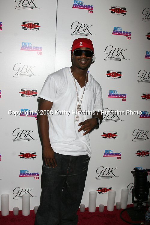 Ray J Norwood at the BET Awards GBK Gifting Lounge outside the Shrine Auditorium in Los Angeles, CA on.June 23, 2008.©2008 Kathy Hutchins / Hutchins Photo .