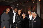 """As The World Turns; Law and Order SVU Tamara Tunie poses with actress Sigra Smith, husband Gregory Generet and mom GG and friends at Hearts of Gold's 16th Annual Fall Fundraising Gala & Fashion Show """"Come to the Cabaret"""", a benefit gala for Hearts of Gold on November 16, 2012 at the Metropolitan Pavilion, New York City, New York.   (Photo by Sue Coflin/Max Photos)"""