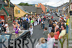 Noirin Ni Dhubhda(centre)who was picked as the 2008 queen of Feile Lughnasa last Friday enjoying the annual Feile Lughnasa parade through the Village og Clahane last Sunday evening