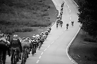 stretched peloton <br /> <br /> 2013 Tour of Britain<br /> stage 5: Machynlleth to Caerphilly (177km)