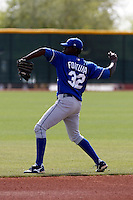Carlos Fortuna  - Kansas City Royals - 2009 spring training.Photo by:  Bill Mitchell/Four Seam Images