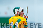 Daniel Collins Kilmoyley in action against  Lixnaw in the Kerry County Senior Hurling championship Final between Kilmoyley and Lixnaw at Austin Stack Park on Sunday.