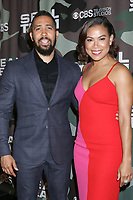 """LOS ANGELES - FEB 25:  Neil Brown Jr, Toni Trucks at the """"Seal Team"""" Screening at the ArcLight Hollywood on February 25, 2020 in Los Angeles, CA"""