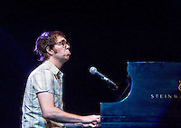 Ben Folds performs at the Chaifetz Arena in St. Louis, Mo. on April 16, 2010.