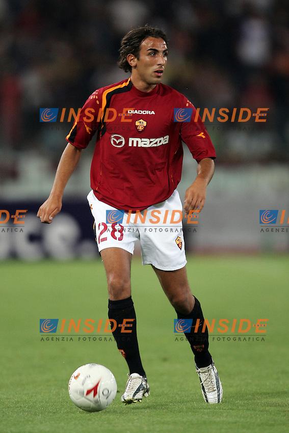 Roma 29/8/2004 Amichevole di presentazione AS Roma. Friendly match Roma - Iran 5-3. Valerio Virga Roma<br /> <br /> Foto Andrea Staccioli Insidefoto