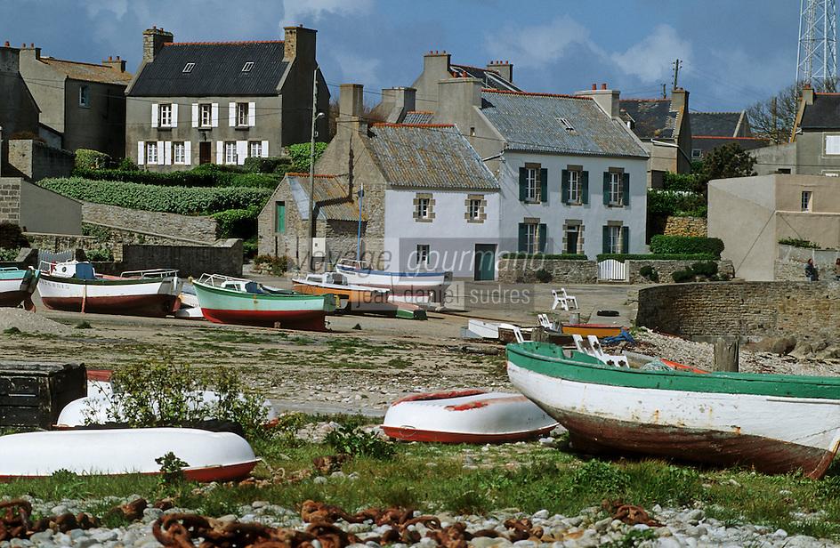 Europe/France/Bretagne/29/Finistère/Ile de Molène: Le port