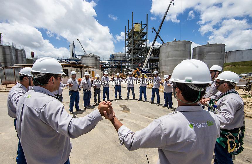 Maceio 20/11/2013 - Nucleo de producao de biocombustivel da GranBio Alagoas. Foto: Jonne Roriz