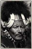 Naga Warrior tribe from Nagaland, India