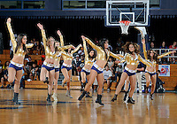 Florida International University Golden Dazzlers perform during the game against Florida Atlantic University, which won the game 66-64 on January 21, 2012 at Miami, Florida. .