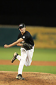 Pitcher Kirby Snead (6) of Santa Fe High School participates in the Team One Futures Game East at Roger Dean Stadium on September 25, 2010 in Jupiter, Florida..  (Copyright Mike Janes Photography)