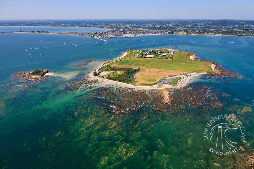 France, Normandie, Manche (50), (vue aérienne) // France, Normandy, Manche, (aerial view)