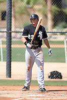 Mark Teahen, Chicago White Sox minor league spring training..Photo by:  Bill Mitchell/Four Seam Images.