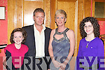 Colleen Langan, Simon Holding, Eileen Langan and Roisin Langan Brosna having fun at the Kerry Community Games annual awards ceremony in the River Island Hotel Castleisland on Friday night