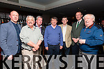 At the Kerry Assoc London and Tralee Chamber Alliance informal networking event at the Abbey Inn on Saturday were L-r Danny Leane, Jr. Abbey Inn, Sean Lyons, Tralee Chamber Alliance, Pádraig Hanrahan, Ballybunion Development Company, Noel O'Sullivan, Kerry Assoc London, Anthony O'Gara, Executive Chairman of the Rose of Tralee, Arthur J Spring TD, Danny Leane Snr, Abbey Inn