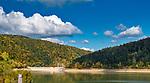Zalew Klimkówka 07-10-2019 Jezioro Klimkowskie (Klimkówka) – zbiornik zaporowy utworzony na rzece Ropie w 1994 roku w pobliżu miejscowości Klimkówka, Łosie i Uście Gorlickie w powiecie gorlickim.  Jest jednym z najmłodszych sztucznych jezior w Polsce a jego wody zostały zakwalifikowane do I klasy czystości.