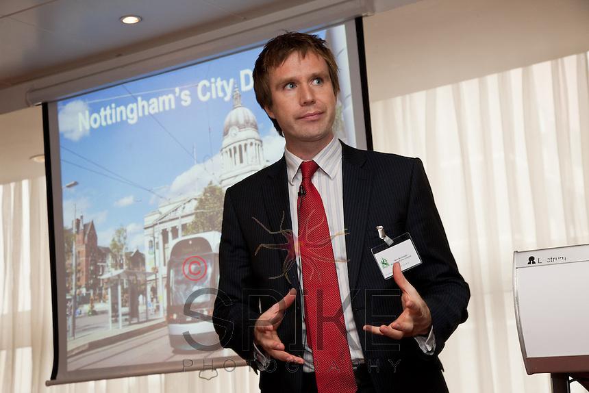 Keynote speaker Councillor Nick McDonald