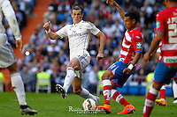Real Madrid´s Welsh forward Gareth Bale in action