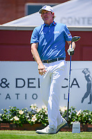 Brandt Snedeker (USA) watches his tee shot on 1 during the round 1 of the Dean &amp; Deluca Invitational, at The Colonial, Ft. Worth, Texas, USA. 5/25/2017.<br /> Picture: Golffile | Ken Murray<br /> <br /> <br /> All photo usage must carry mandatory copyright credit (&copy; Golffile | Ken Murray)