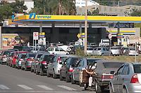 CAMPINAS, SP, 24.05.2018: COMBUSTIVEL-SP - Movimentação intensa em posto de combustivel no jardim Capivari em Campinas, interior de São Paulo, na manhã desta quinta-feira (24). (Foto: Luciano Claudino/Código19)
