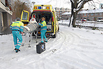 Patientenvervoer in de winter