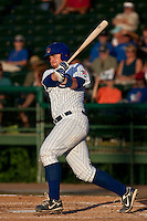 Michael Brenly (18) of the Daytona Cubs during a game vs. the Brevard County Manatees May 25 2010 at Jackie Robinson Ballpark in Daytona Beach, Florida. Daytona won the game against Brevard by the score of 5-3.  Photo By Scott Jontes/Four Seam Images