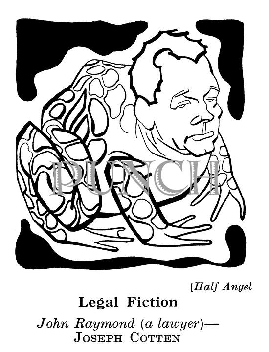 Half Angel : Joseph Cotten