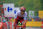 Rick Zabel (GER) Team Katusha Alpecin in action during Stage 1, a 14km individual time trial around Dusseldorf, of the 104th edition of the Tour de France 2017, Dusseldorf, Germany. 1st July 2017.<br /> Picture: Eoin Clarke | Cyclefile<br /> <br /> <br /> All photos usage must carry mandatory copyright credit (&copy; Cyclefile | Eoin Clarke)