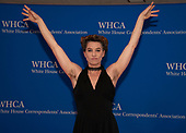 Amanda Palmer arrives for the 2019 White House Correspondents Association Annual Dinner at the Washington Hilton Hotel on Saturday, April 27, 2019.<br /> Credit: Ron Sachs / CNP<br /> <br /> (RESTRICTION: NO New York or New Jersey Newspapers or newspapers within a 75 mile radius of New York City)