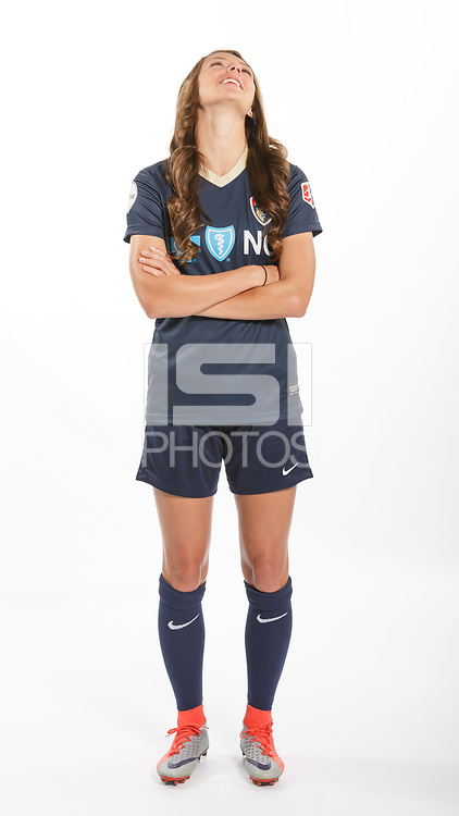 Cary, North Carolina - Monday April 10, 2017: The North Carolina Courage photo day took place at Sahlen's Stadium at WakeMed Soccer Park.