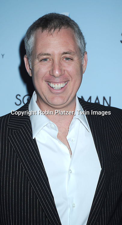"""director Brian Koppelman  attending  The New York Premiere of """"Solitary Man"""" starring Michael Douglas, Jenna Fischer, Imogen Poots at Cinema 2 on May 11, 2010 in New York City."""