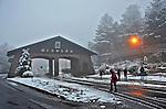 Inverno com neve na cidade de Gramado. Rio Grande do Sul. 2014. Foto de Pedro Stabile.