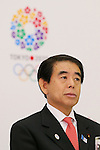 Hakubun Shimomura, JANUARY 24, 2014 : Tokyo Organising Committeee of the Olympic and Paralympic Games member attend press conference in Tokyo, Japan. The Tokyo Organising Committee of the Olympic and Paralympic Games (Tokyo 2020) was formally established today and will be headed by former Prime Minister of japan Yoshiro Mori.  Photo by Yusuke Nakansihi/AFLO SPORT) [1090]