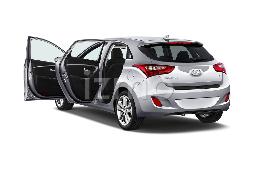 Car images close up view of 2016 Hyundai Elantra Gt 5 Door Hatchback doors