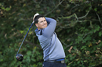 Colm Campbell (Warrenpoint)  during the final of the Irish Mid-Amateur Open Championship, Royal Belfast Golf CLub, Hollywood, Down, Ireland. 29/09/2019.<br /> Picture Fran Caffrey / Golffile.ie<br /> <br /> All photo usage must carry mandatory copyright credit (© Golffile   Fran Caffrey)