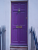 ENGLAND, Brighton, a Purple Door
