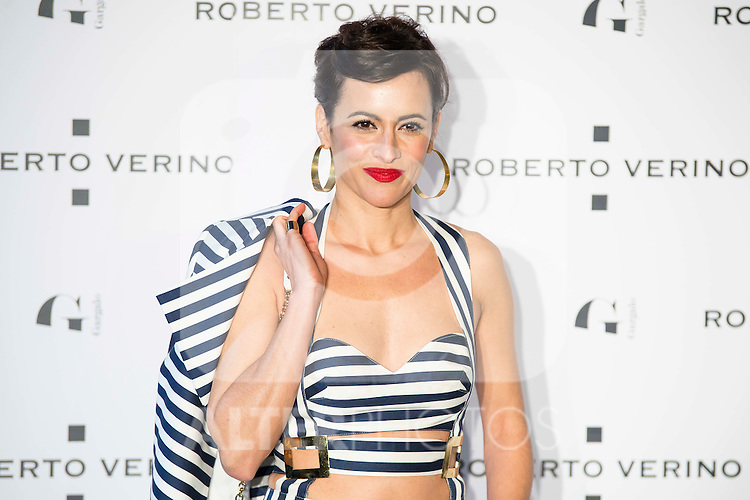 "Ana Turpin during the presentation of the new Spring-Summer collection ""Un Balcon al Mar"" of Roberto Verino at Platea in Madrid. March 16, 2016. (ALTERPHOTOS/Borja B.Hojas)"