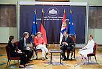 20150709 Angela Merkel met Aleksandar Vucic