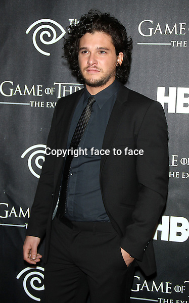 "NEW YORK, NY - MARCH 27: Kit Harington at the ""Game Of Thrones"" The Exhibition New York Opening at 3 West 57th Avenue on March 27, 2013 in New York City...Credit: MediaPunch/face to face..- Germany, Austria, Switzerland, Eastern Europe, Australia, UK, USA, Taiwan, Singapore, China, Malaysia and Thailand rights only -"
