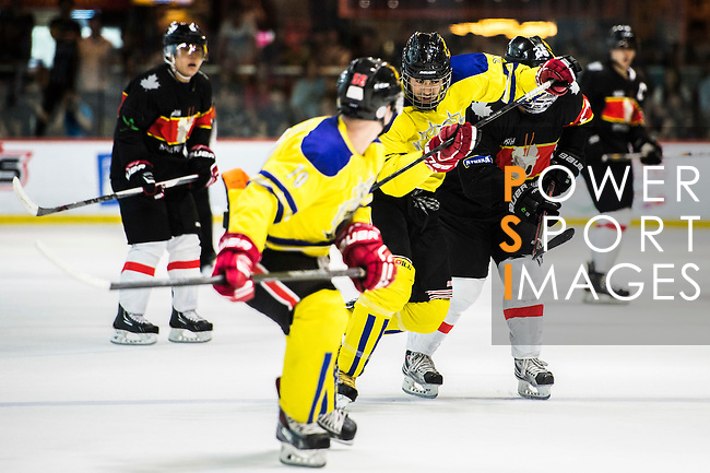 Players compete at the Mega Ice 5s Hong Kong 2015 on May 9, 2015 at the Mega Box in Hong Kong, China. Photo by Aitor Alcalde / Power Sport Images