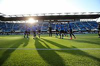 San Jose, CA - Saturday May 06, 2017: San Jose Earthquakes  prior to a Major League Soccer (MLS) match between the San Jose Earthquakes and the Portland Timbers at Avaya Stadium.