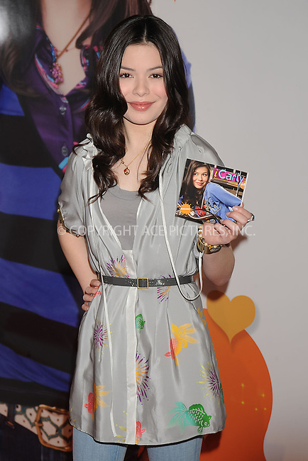 WWW.ACEPIXS.COM . . . . . ....June 10 2008, New York City....Actress Miranda Cosgrove signs copies of her new CD 'iPlaylist' at the Nickelodeon stand during the 2008 Licencing International Expo at the Jacob Javits Convention Center, New York City, June 10 2008....Please byline: KRISTIN CALLAHAN - ACEPIXS.COM.. . . . . . ..Ace Pictures, Inc:  ..(646) 769 0430..e-mail: info@acepixs.com..web: http://www.acepixs.com