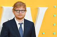 "LONDON, UK. June 18, 2019: Ed Sheeran arriving for the UK premiere of ""Yesterday"" at the Odeon Luxe, Leicester Square, London.<br /> Picture: Steve Vas/Featureflash"