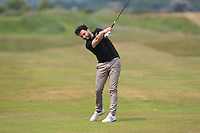 Gerard Dunne (Co. Louth) on the 2nd during Round 4 of the East of Ireland Amateur Open Championship sponsored by City North Hotel at Co. Louth Golf club in Baltray on Monday 6th June 2016.<br /> Photo by: Golffile   Thos Caffrey